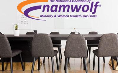 Patrick Joins NAMWOLF Board of Directors
