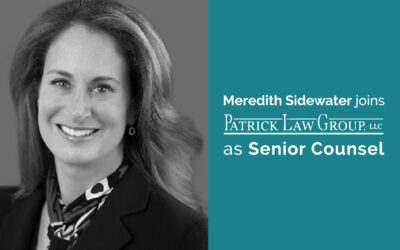 Meredith Sidewater joins Patrick Law Group as Senior Counsel