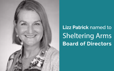 Lizz Patrick named to Sheltering Arms Board of Directors